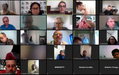 Reunião da diretoria executiva FESSPMESP em conjunto com sindicatos filiados