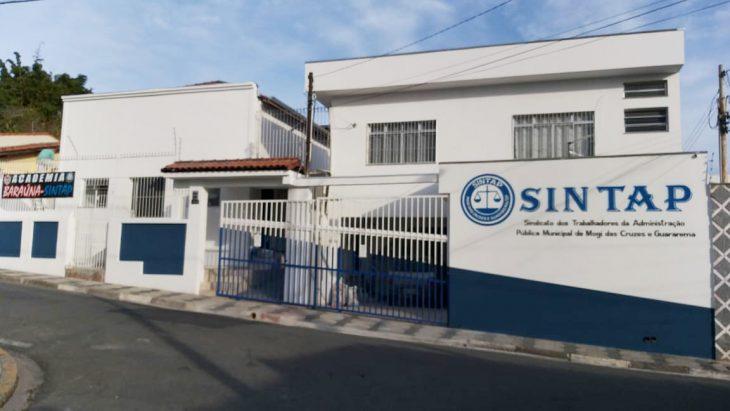 Sintap realiza reforma da fachada de sua sede