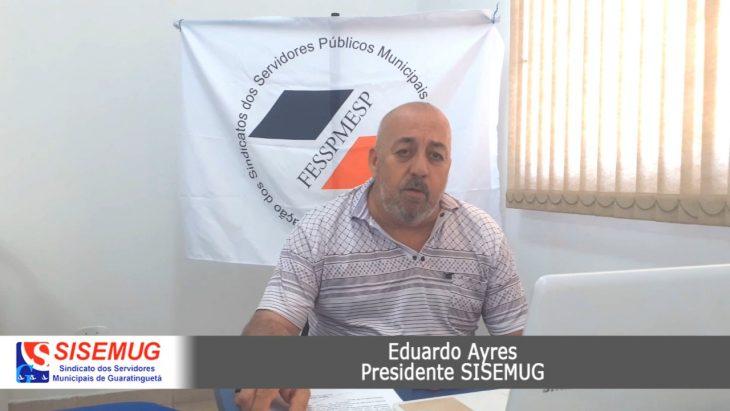 SISEMUG compartilha novas ações ganhas na justiça em prol dos servidores de Guaratinguetá
