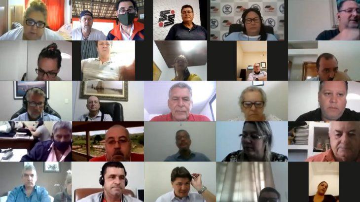 Videoconferência extraordinária FESSPMESP discute assuntos jurídicos urgentes aos trabalhadores