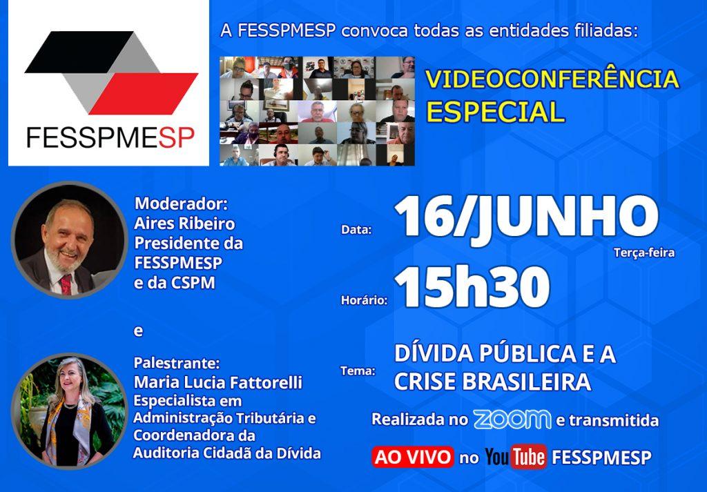Participe da Videoconferência Especial com Maria Lucia Fatorelli