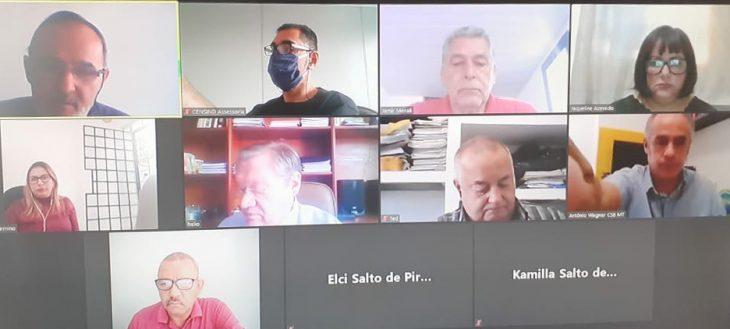 Reunião Jurídica da CSB com a Confederação Nacional dos Servidores Públicos Municipais