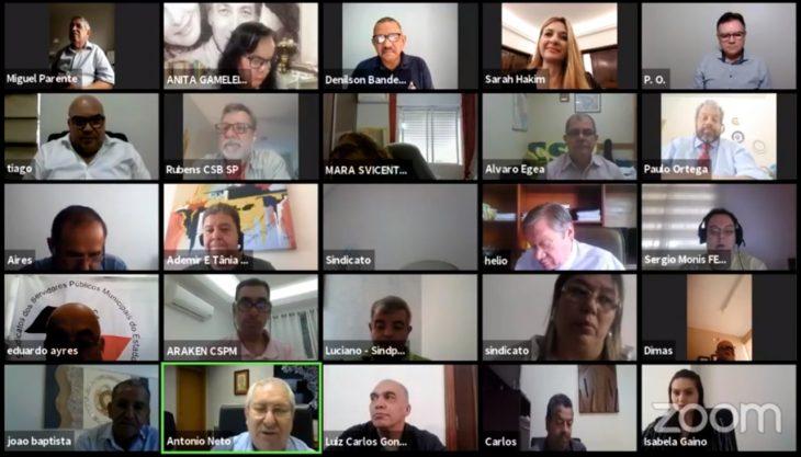Diretoria FESSPMESP esteve presente na Reunião da CSB São Paulo