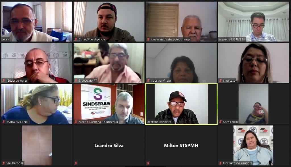 Mais uma Videoconferência ao vivo FESSPMESP com palestra do Presidente Aires Ribeiro