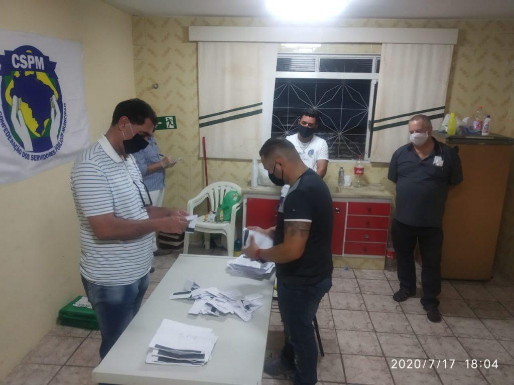 Finalizado o pleito eleitoral para o Sindicato dos Servidores de Santa Rosa de Viterbo com a coordenação FESSPMESP