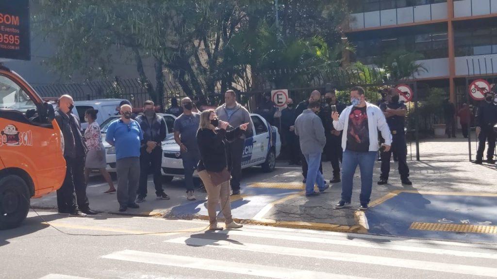 Cláudio Aparecido dos Santos (Ted)  Presidente do Sindicato dos Servidores Públicos Municipais de Suzano