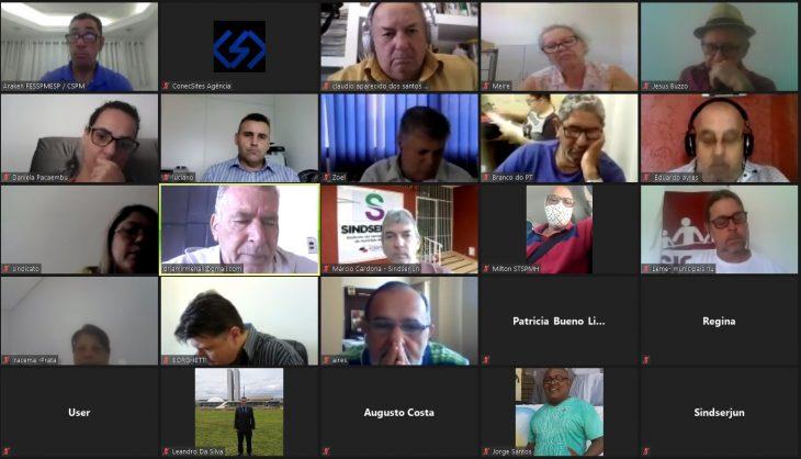 Reunião FESSPMESP: O registro de entidades sindicais pela Portaria 17.593/2020