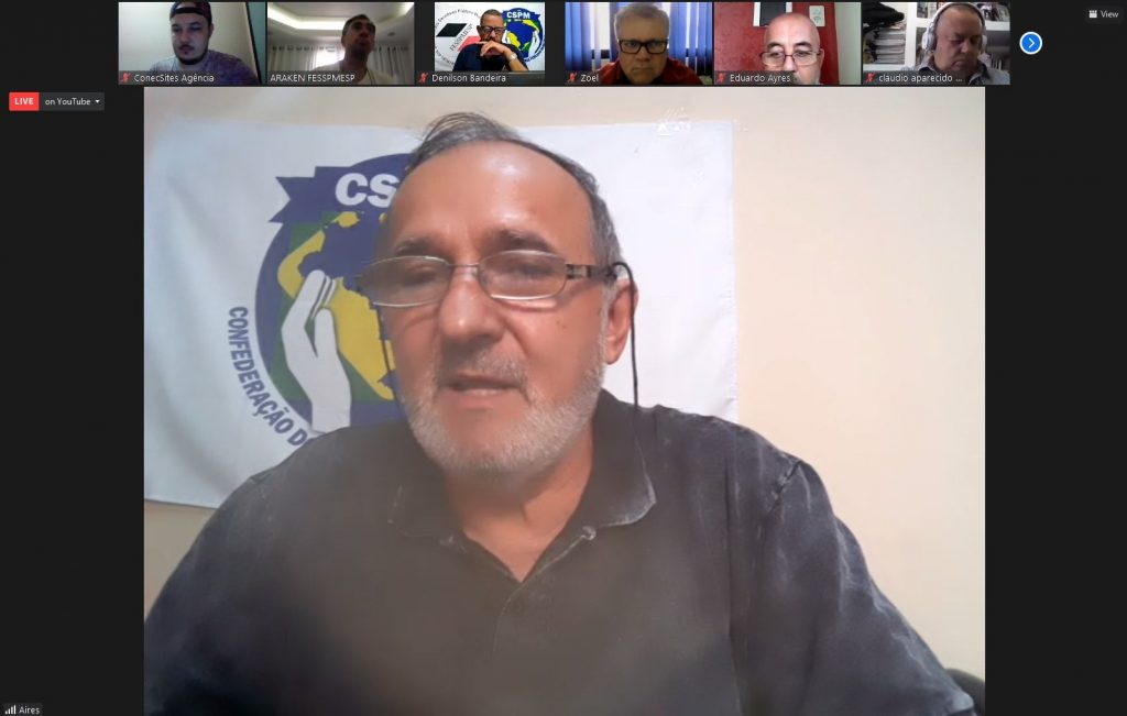 Videoconferência online FESSPMESP com palestra ao vivo: Um momento de reflexão sobre o racismo estrutural na sociedade brasileira