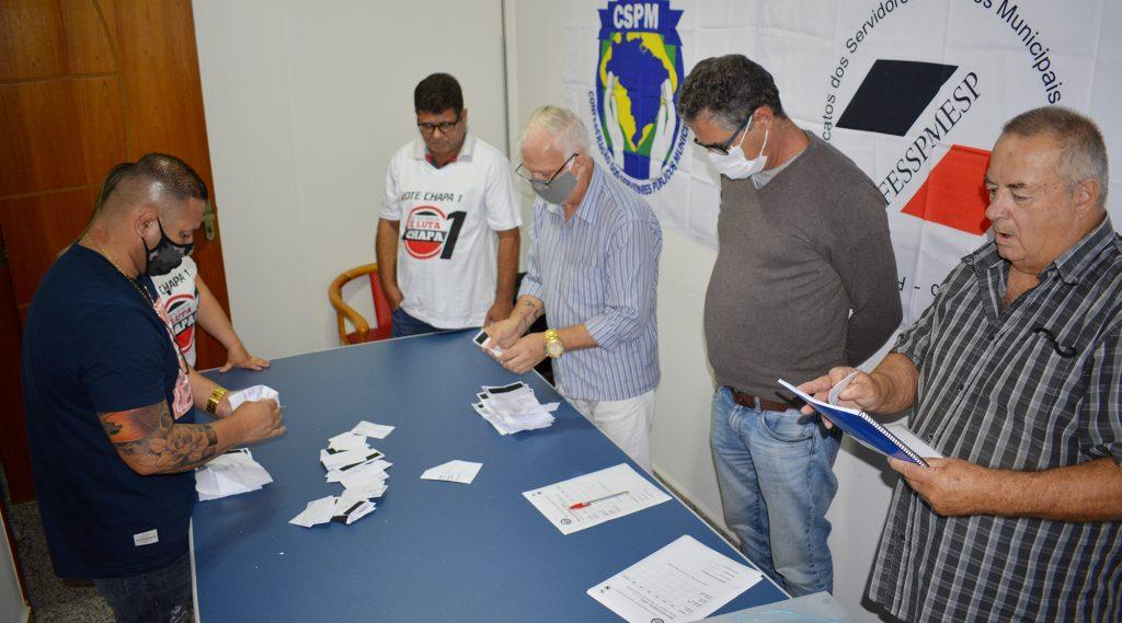 Eleições sindicais são concluídas em Itaquaquecetuba com coordenação FESSPMESP