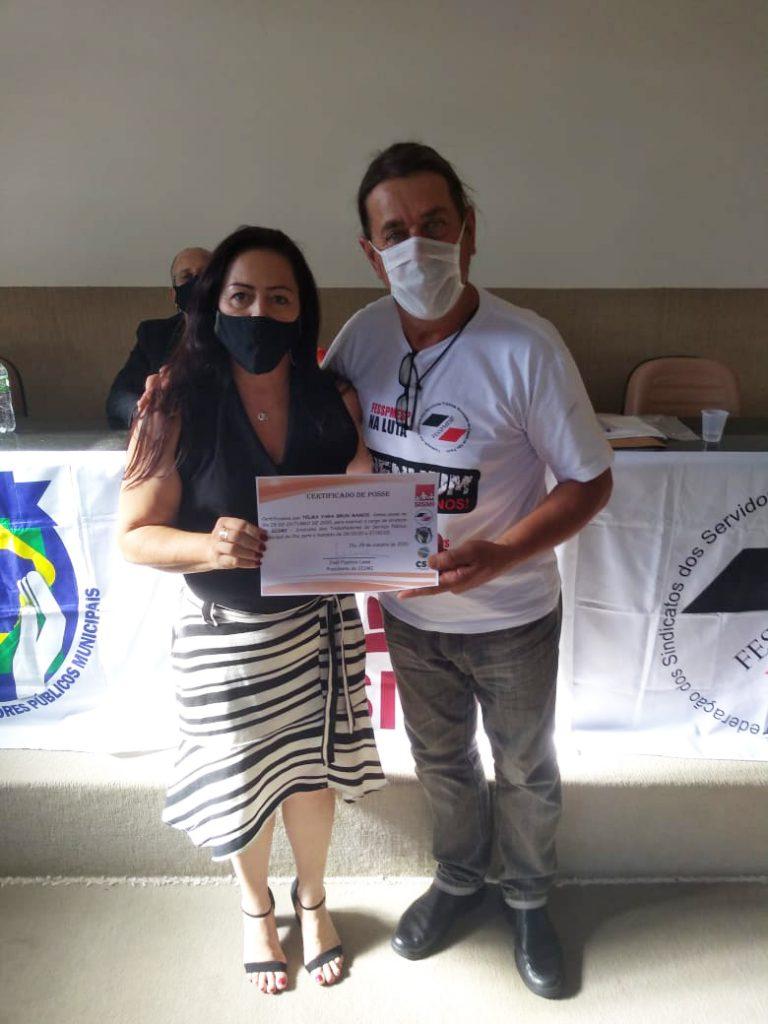 Nova diretoria do SISMI – Sindicato dos Trabalhadores do Serviço Público Municipal de Itu toma posse