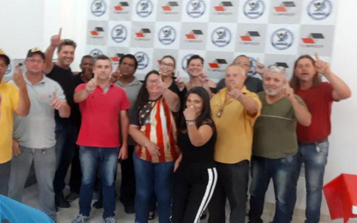 Equipe FESSPMESP realiza eleições sindicais em Salto de Pirapora