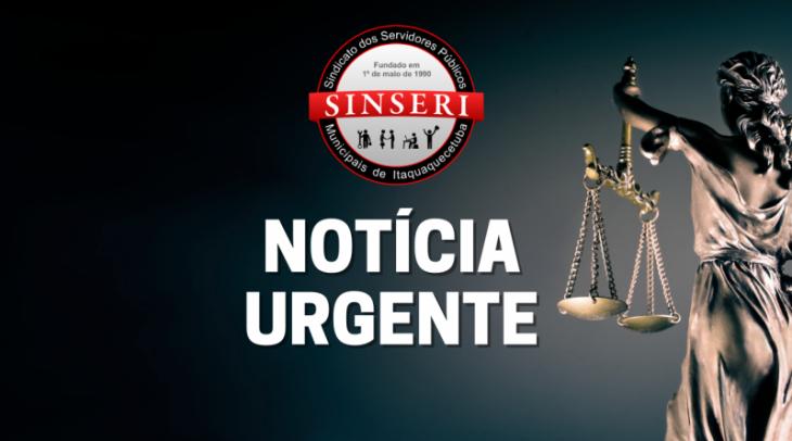 Justiça de Itaquá concede liminar à pedido do Sinseri para suspender efeitos de assembleia contrária ao seu Estatuto