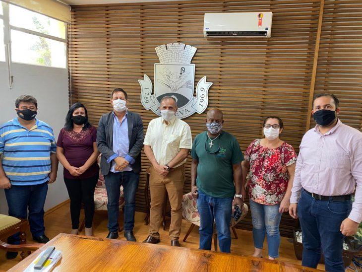 FESSPMESP visita a base, presidente Aires Ribeiro visita o sindicato de Itapeva, filiado à Federação
