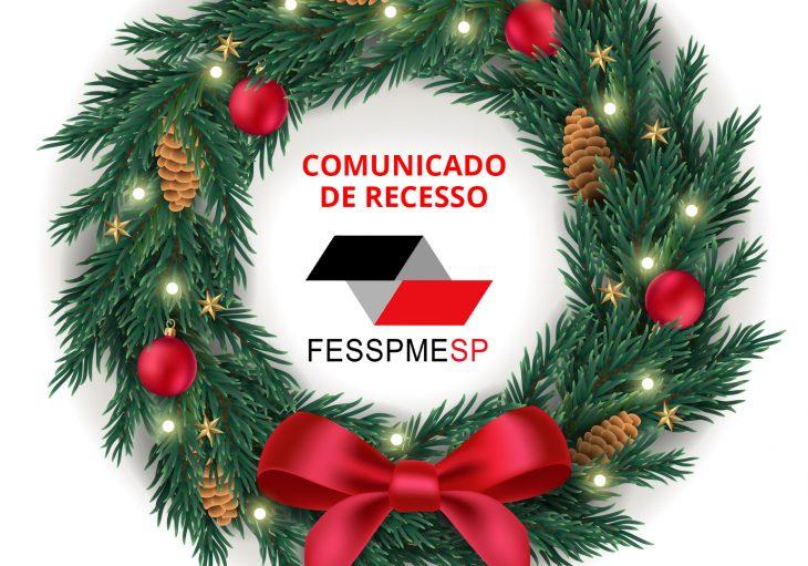 Comunicado de recesso FESSPMESP 2020