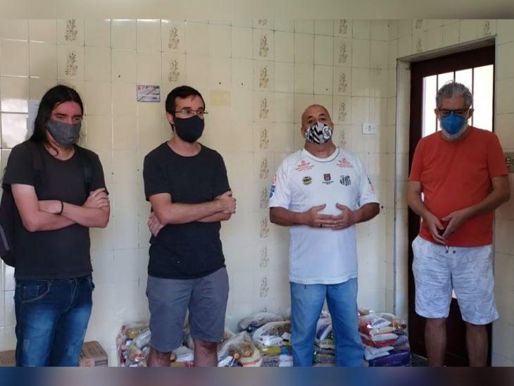 Sindicato dos Servidores de Guaratinguetá participa de grande campanha contra a fome