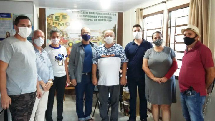 Equipe de eleições FESSPMESP realiza o processo eleitoral para o Sindicato dos Funcionários e Trabalhadores de Quatá