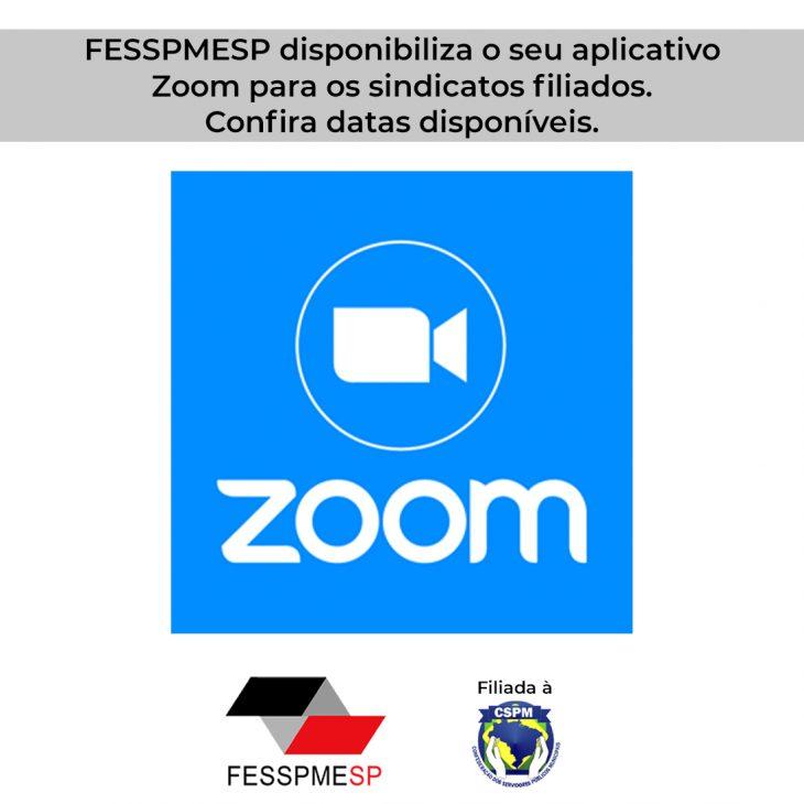 FESSPMESP oferece aos Sindicatos filiados plataforma ZOOM de videoconferência inteiramente gratuita