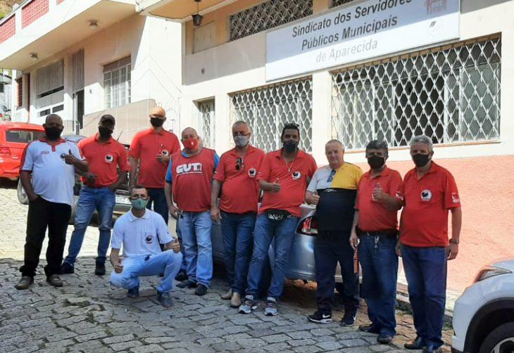 Equipe FESSPMESP realiza eleições sindicais em Aparecida/SP