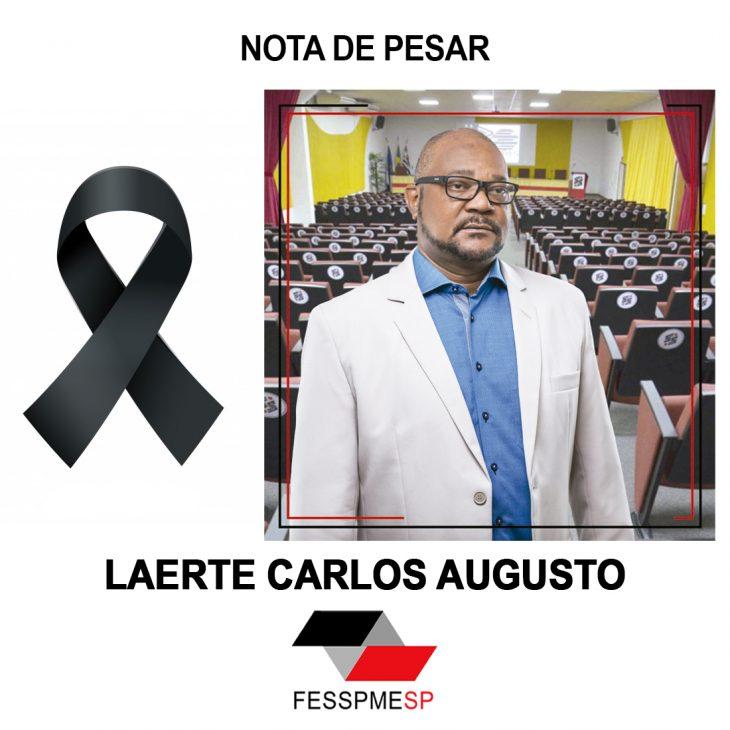 Nota de Pesar - Laerte Carlos Augusto