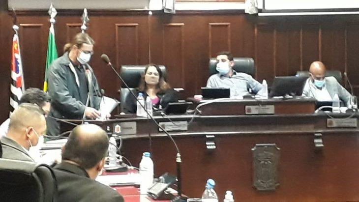 Vice-presidente executivo FESSPMESP utiliza da Tribuna Livre da Câmara Municipal de Itu
