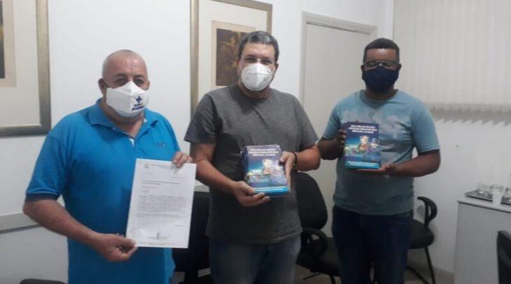 Sindicato dos Servidores de Guaratinguetá protocola ofício à Presidência da Câmara Municipal solicitando o uso da tribuna livre